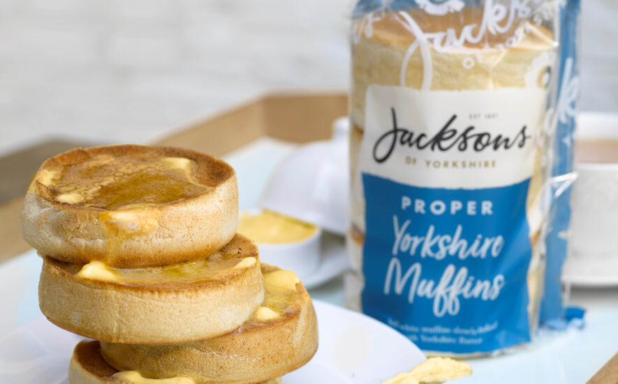 Proper  Yorkshire  Muffins  for  a  proper  breakfast,  brunch  or  lunch!